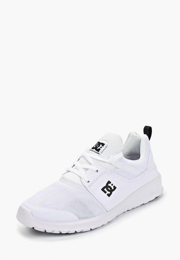 Фото 2 - Кроссовки DC Shoes белого цвета