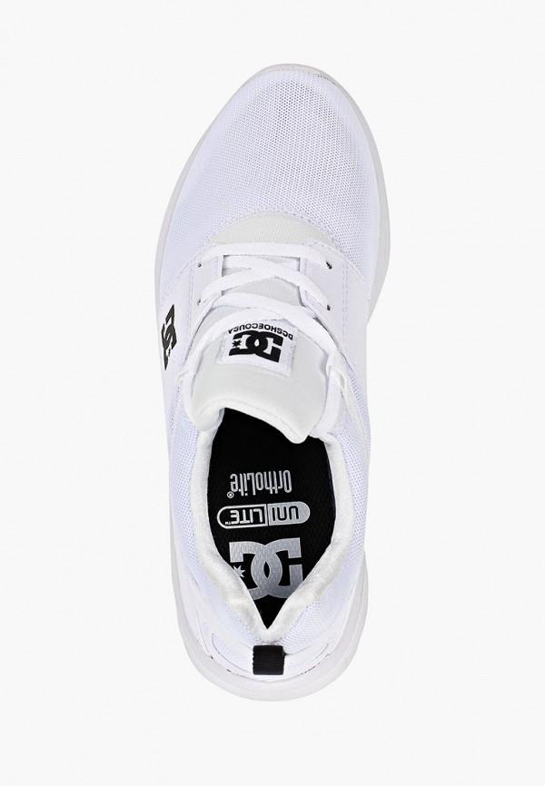 Фото 4 - Кроссовки DC Shoes белого цвета