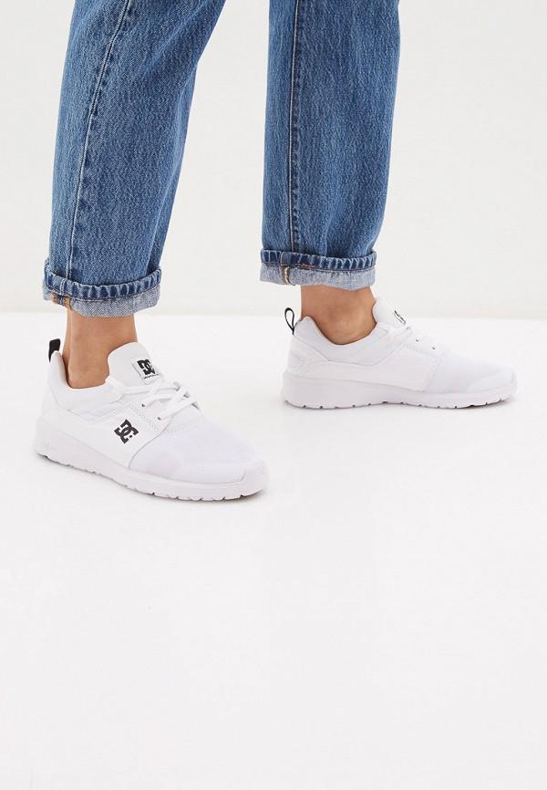 Фото 6 - Кроссовки DC Shoes белого цвета