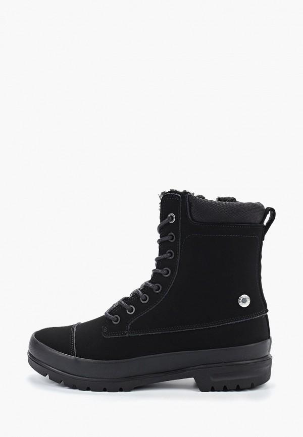женские высокие ботинки dc shoes, черные
