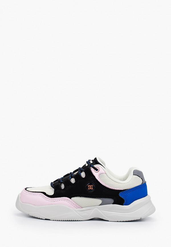 женские кроссовки dc shoes, разноцветные