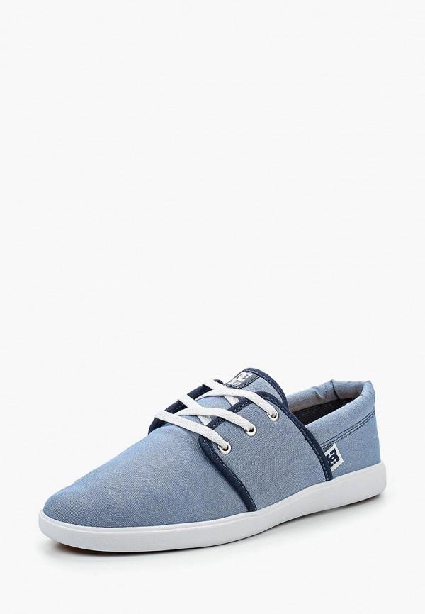 женские кеды dc shoes, голубые