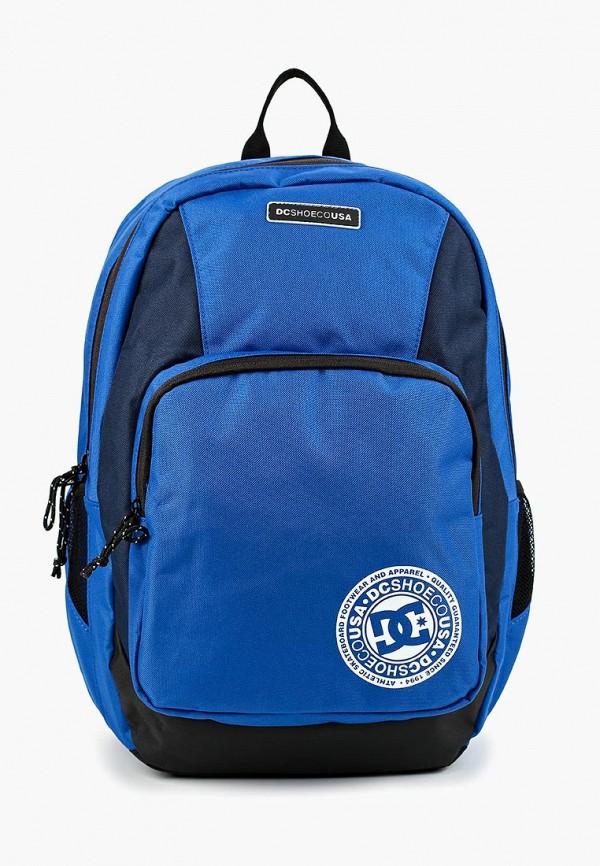 Фото - мужской рюкзак DC Shoes синего цвета
