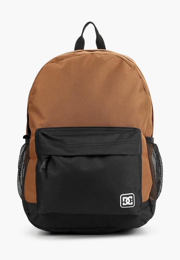 мужской рюкзак dc shoes, коричневый