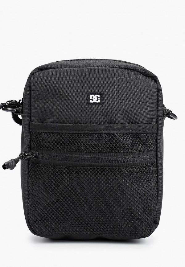 мужская сумка через плечо dc shoes, черная
