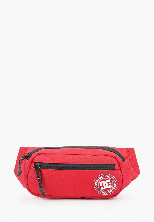 мужская поясные сумка dc shoes, красная