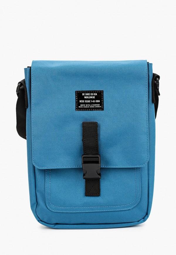 мужская сумка через плечо dc shoes, синяя