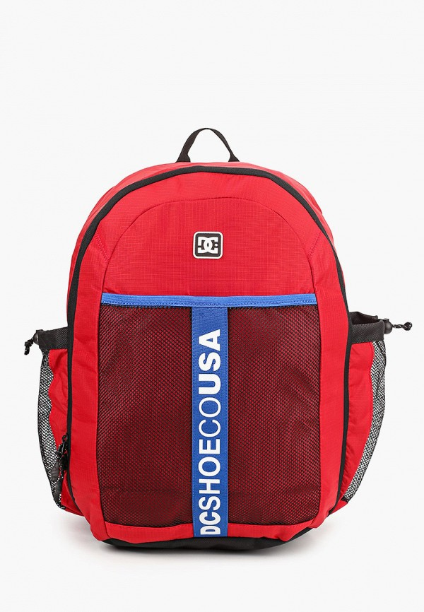 мужской рюкзак dc shoes, красный