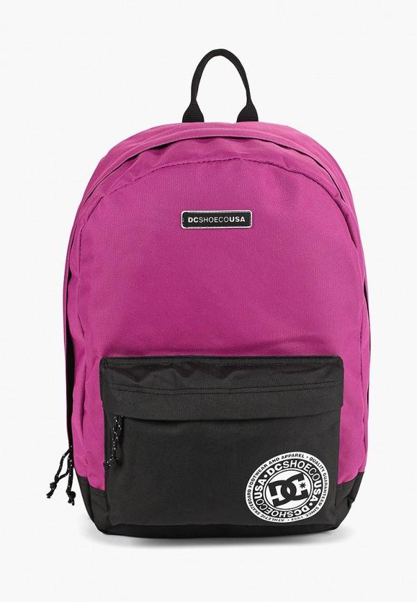 женский рюкзак dc shoes, фиолетовый