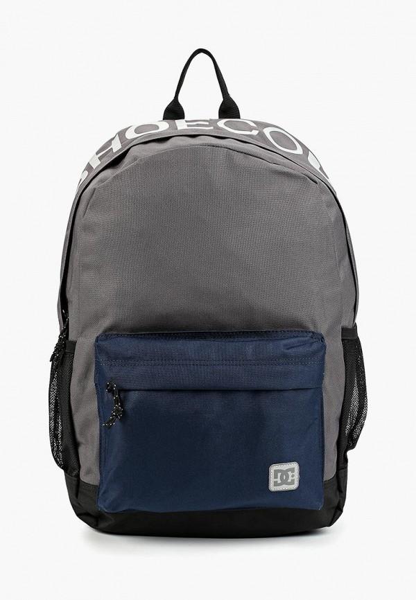 женский рюкзак dc shoes, серый
