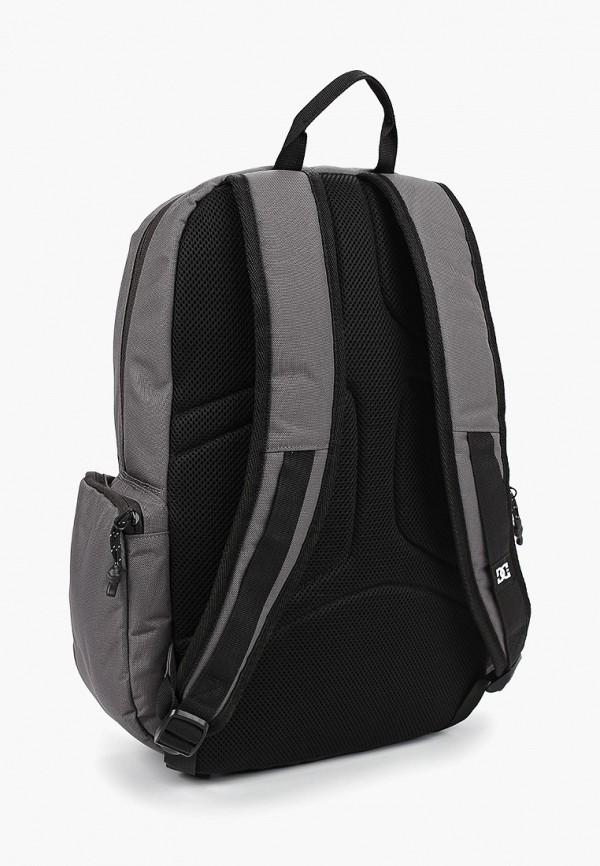Фото 2 - мужской рюкзак DC Shoes серого цвета