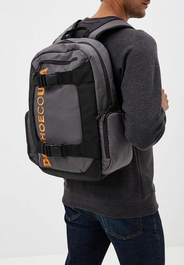 Фото 5 - мужской рюкзак DC Shoes серого цвета