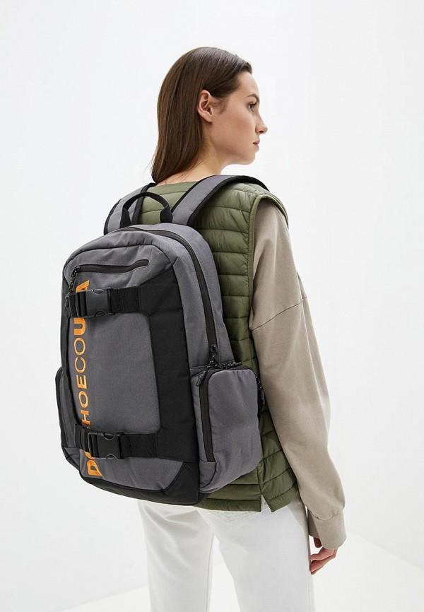 Фото 4 - мужской рюкзак DC Shoes серого цвета