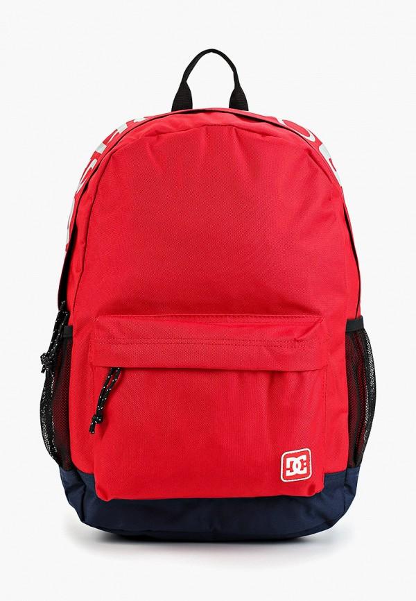 женский рюкзак dc shoes, красный
