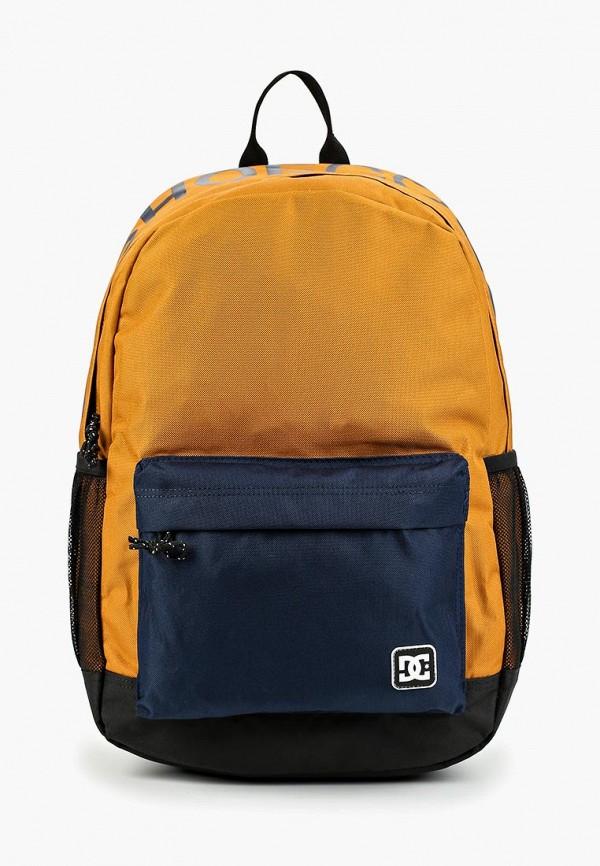 женский рюкзак dc shoes, коричневый