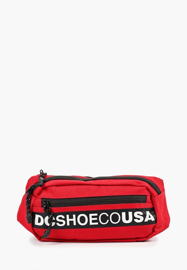 женская сумка dc shoes, красная