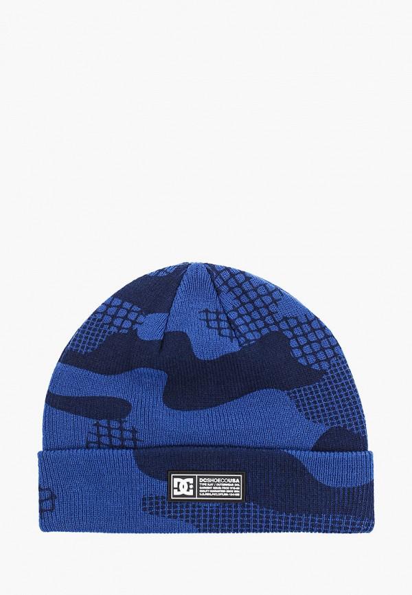 шапка dc shoes для мальчика, синяя