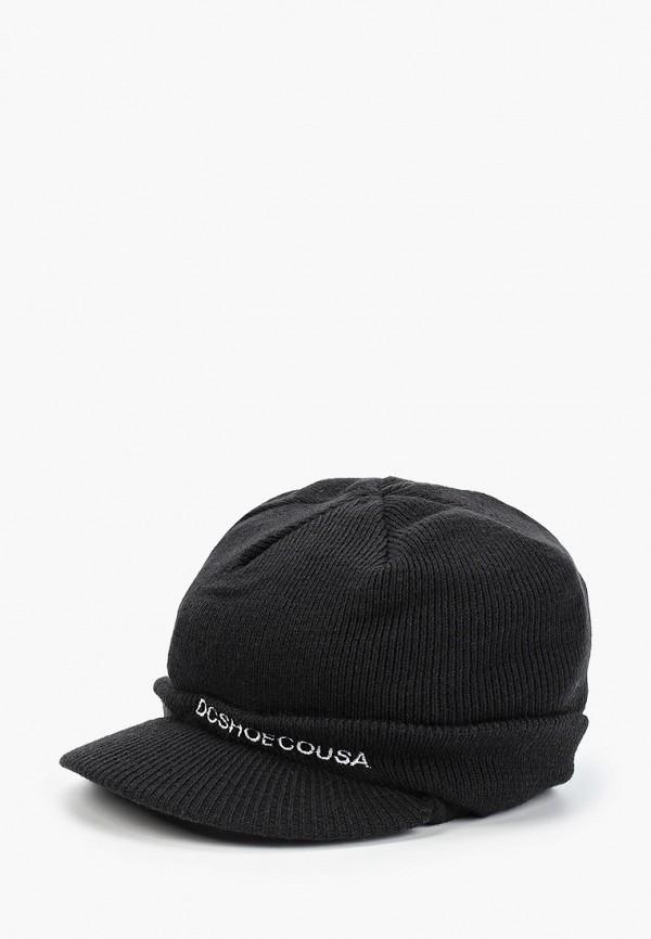 шапка dc shoes для мальчика, черная