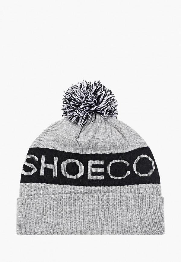 шапка dc shoes для мальчика, серая