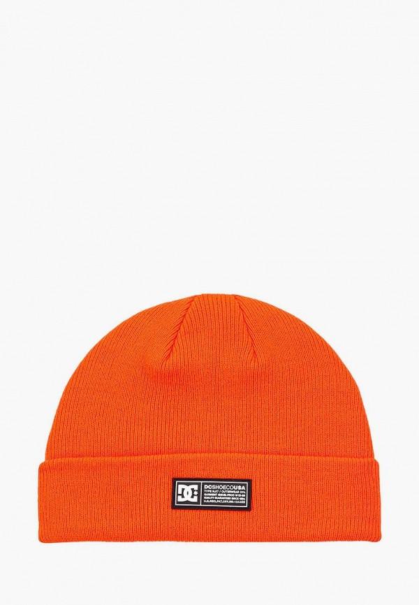 шапка dc shoes для мальчика, оранжевая