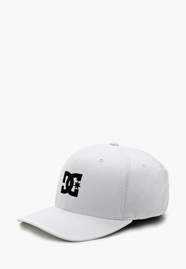 мужская бейсболка dc shoes, белая