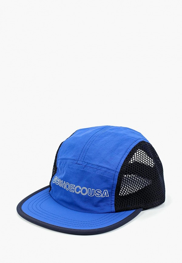 Фото - мужскую бейсболку DC Shoes синего цвета