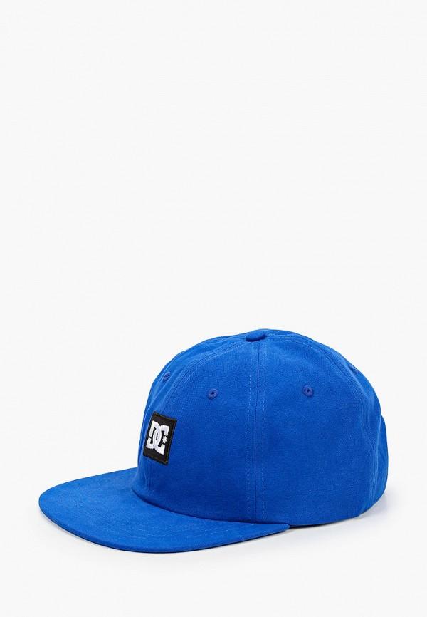 мужская кепка dc shoes, синяя