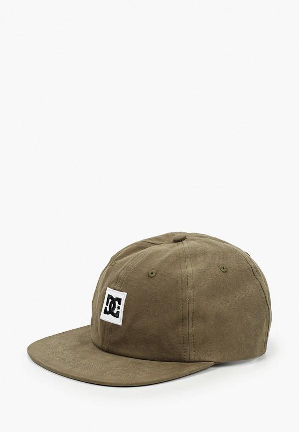 мужская кепка dc shoes, коричневая
