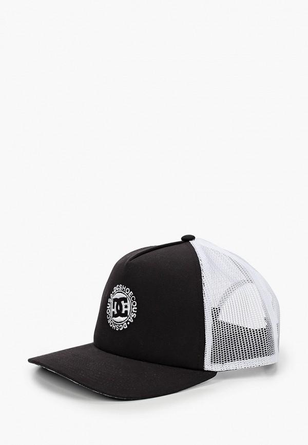 мужская кепка dc shoes, черная