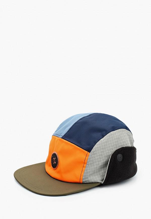 мужская кепка dc shoes, разноцветная
