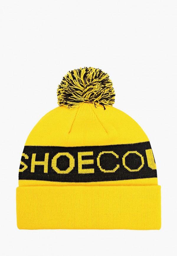 мужская шапка dc shoes, желтая