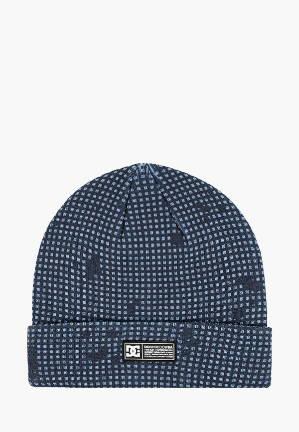 мужская шапка dc shoes, синяя