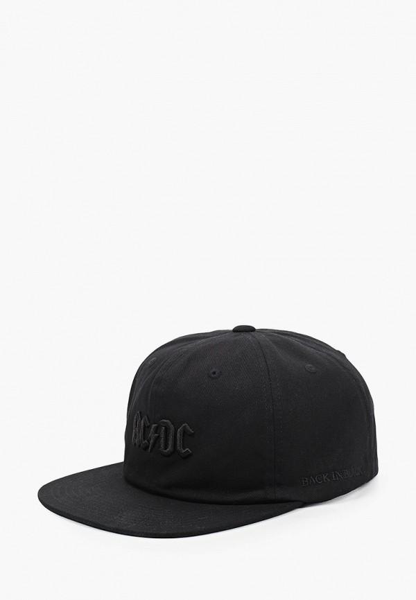 мужская бейсболка dc shoes, черная