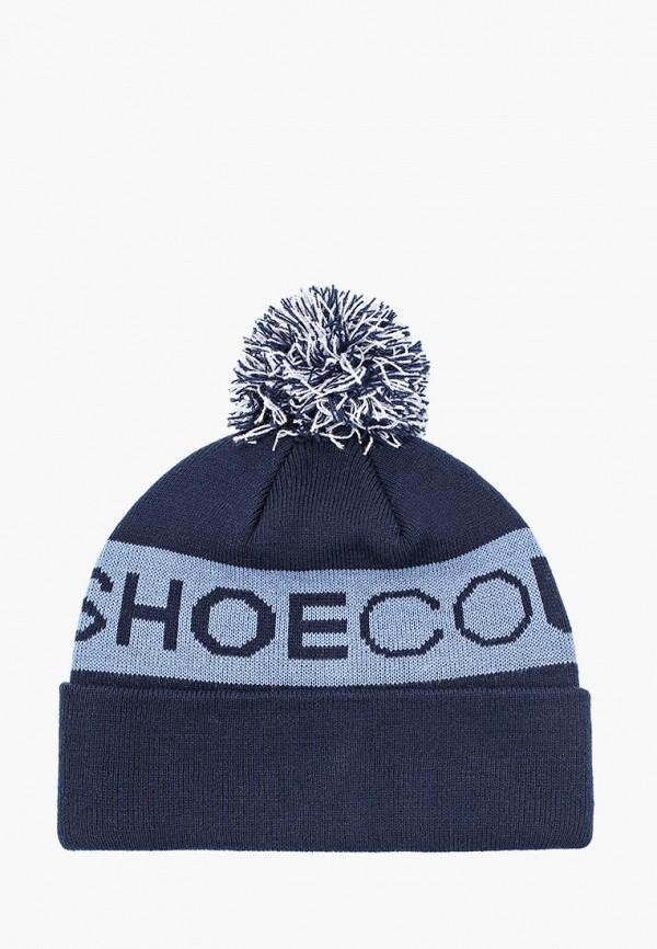 женская шапка dc shoes, синяя