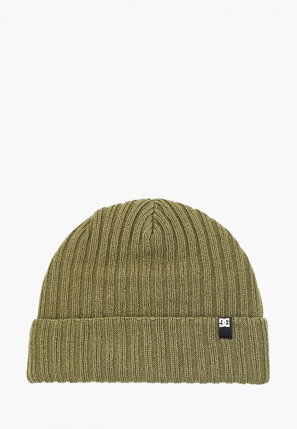 мужская шапка dc shoes, зеленая