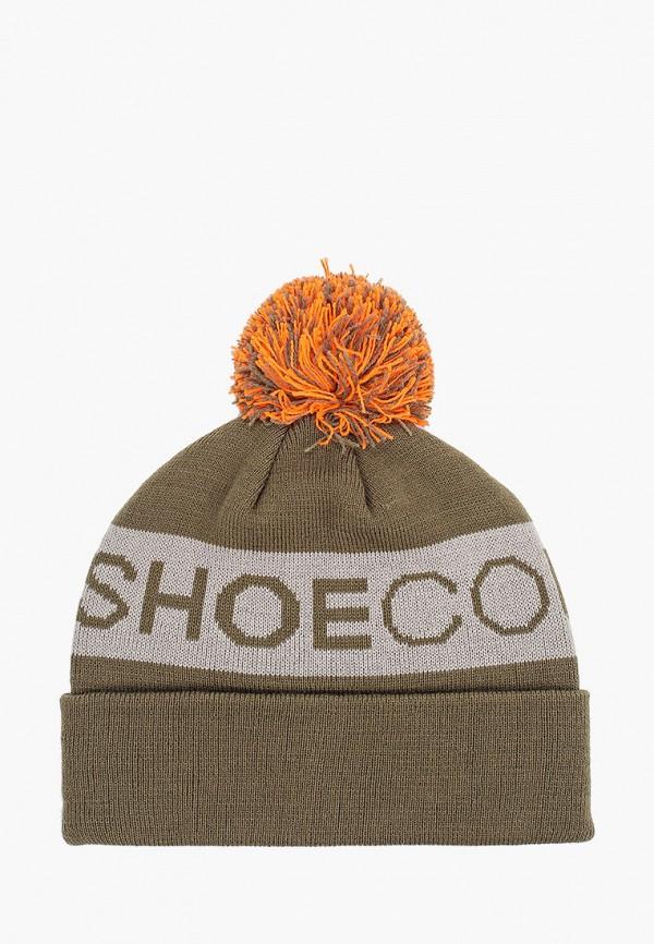 женская шапка dc shoes, зеленая