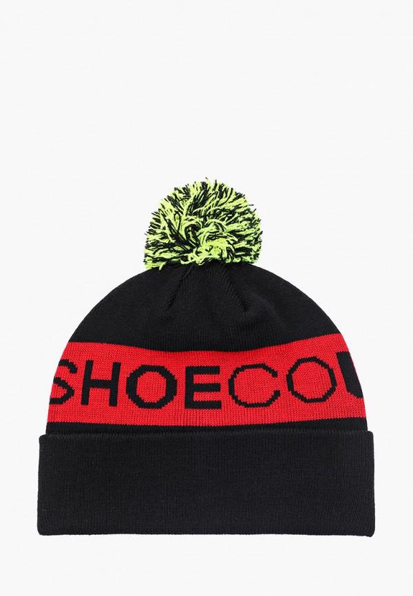 женская шапка dc shoes, черная