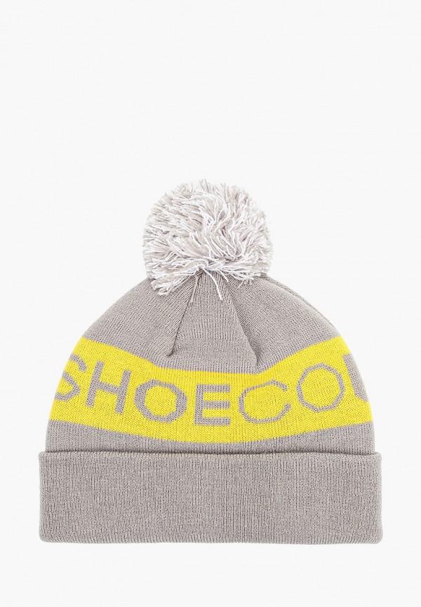 женская шапка dc shoes, серая
