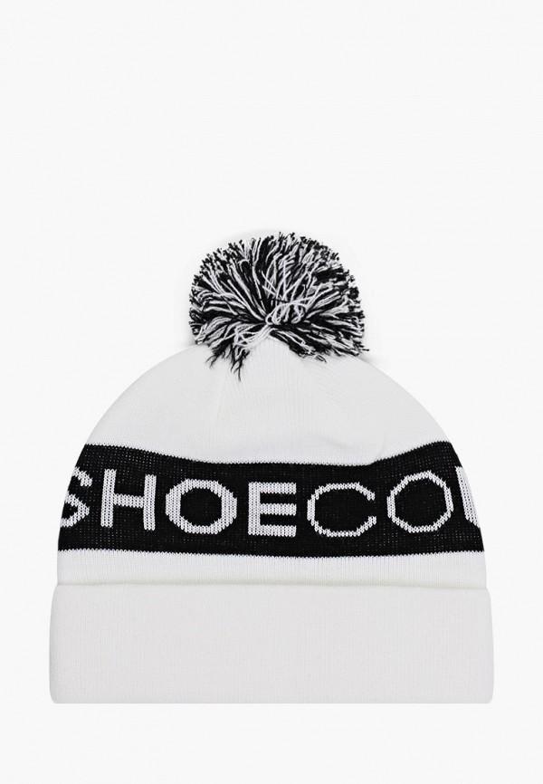 женская шапка dc shoes, белая