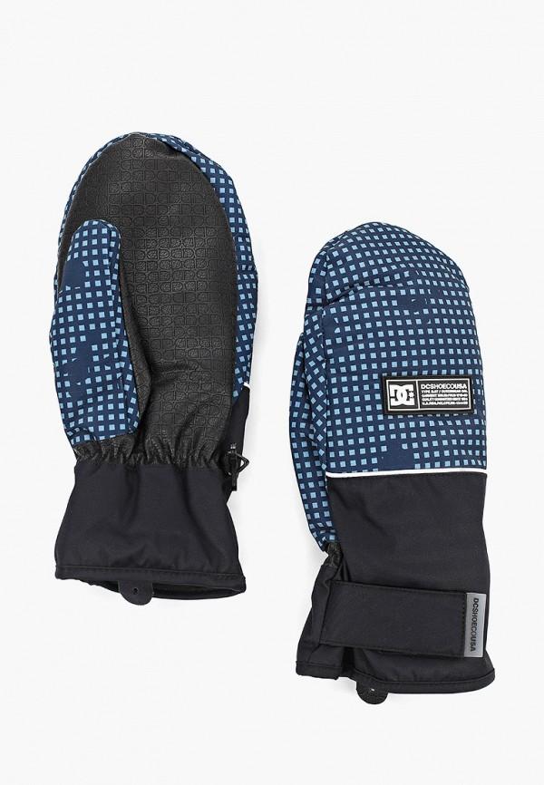 мужские варежки dc shoes, синие