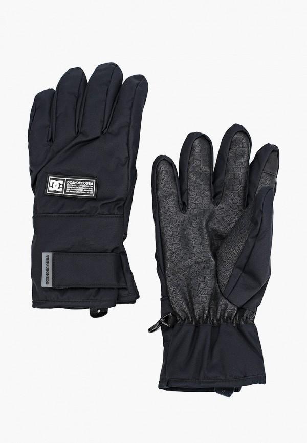 мужские перчатки dc shoes, черные