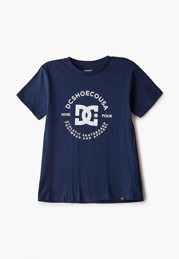 футболка dc shoes для мальчика, синяя