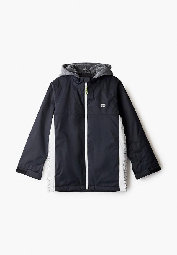 куртка dc shoes для мальчика, черная