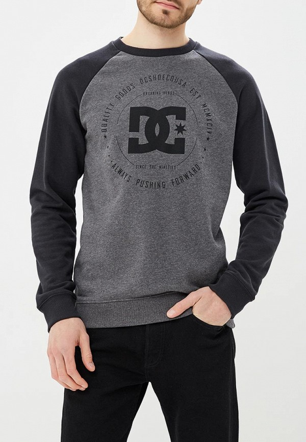 Свитшот DC Shoes DC Shoes DC329EMAKAW7 dc shoes свитшот dc shoes rebuilt campanula grey heather xl