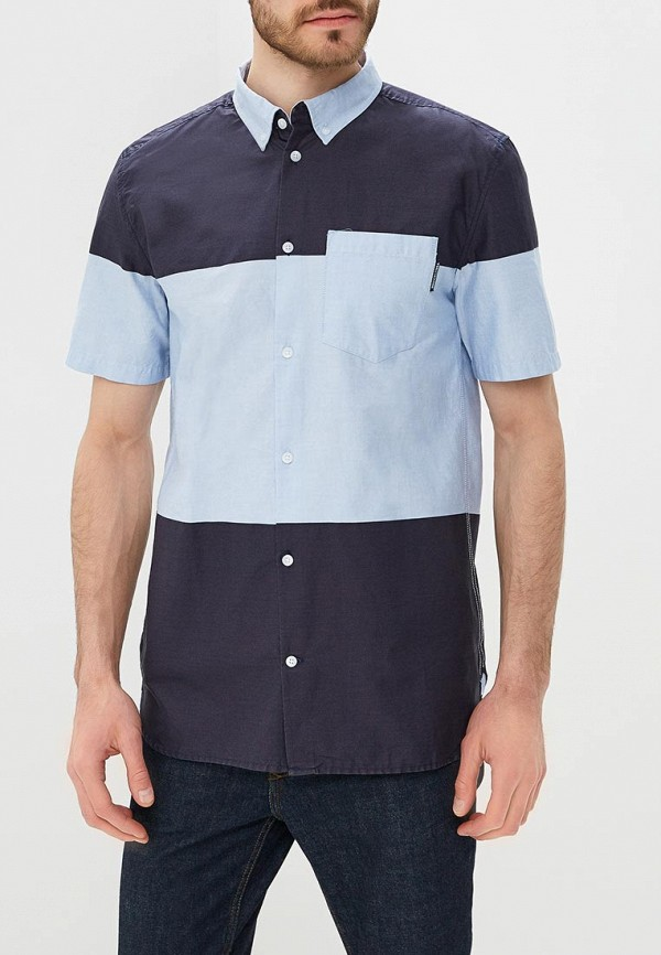 мужская рубашка dc shoes, синяя