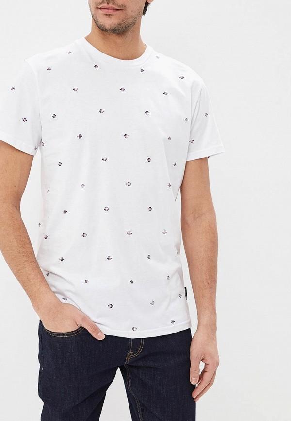 мужская футболка dc shoes, белая