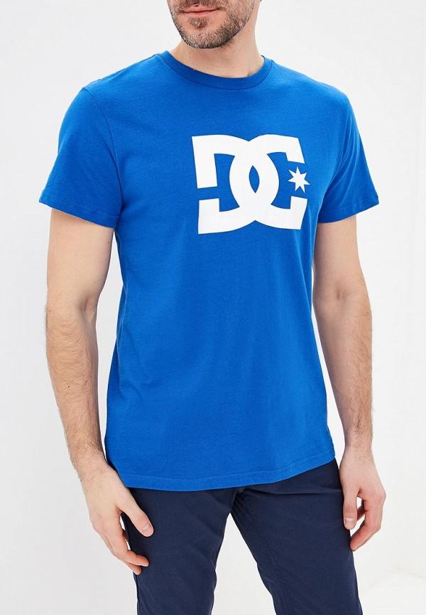 мужская спортивные футболка dc shoes, синяя