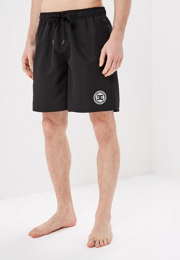 мужские спортивные спортивные шорты dc shoes, черные