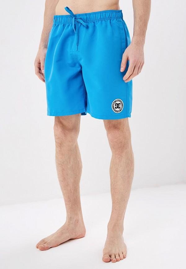 мужские спортивные спортивные шорты dc shoes, синие
