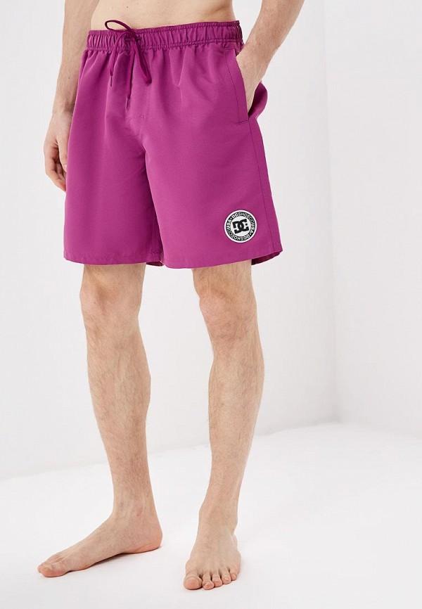 мужские спортивные спортивные шорты dc shoes, фиолетовые